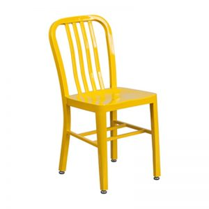 Navy Chair Yellow