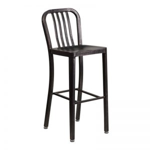 Navy Bar Stools Antique Black