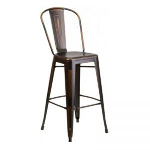 Phoenix Brown Barstool