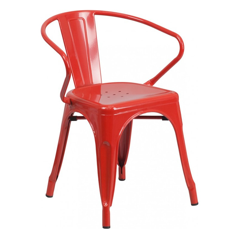 Phoenix Red Arm Chair