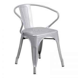 Phoenix Silver Arm Chair