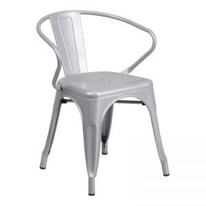 Phoenix Silver Arm Chair
