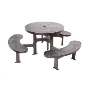 Metal Round Picnic Table