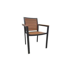 Teak-Natural-Patio-Armchair