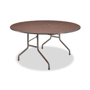 60 Round Folding Laminate Table
