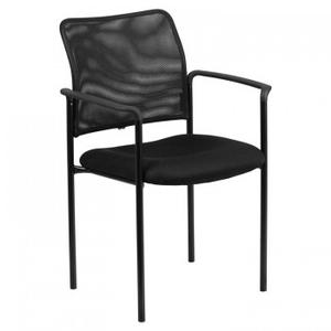 Highland Series Metal Stacker with Arms